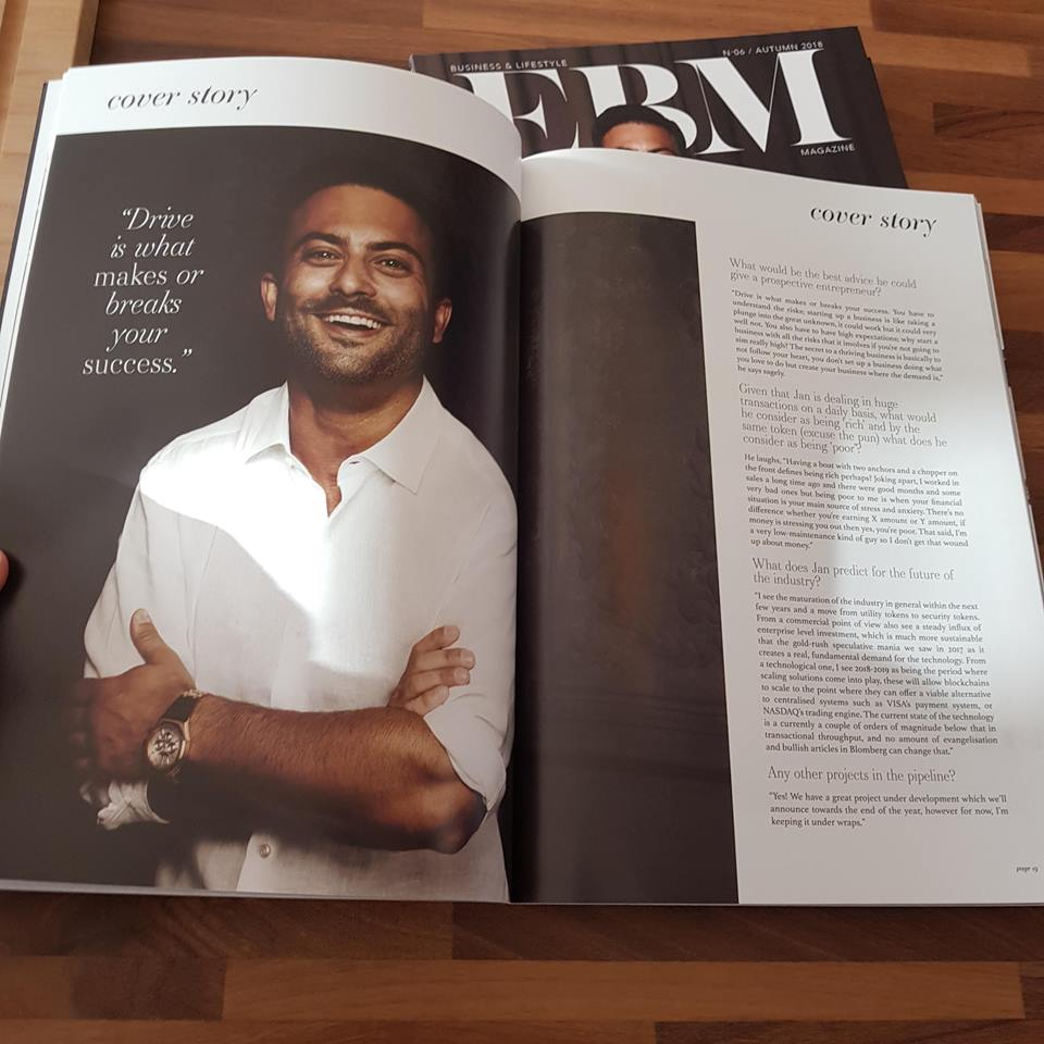 Jan Sammut EMB Magazine