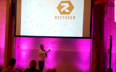 RefToken presented at blockchain conference